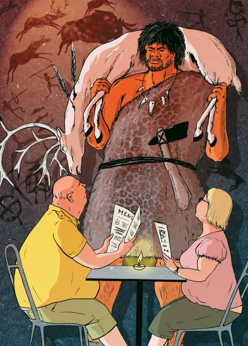 Health caveman mchmwo