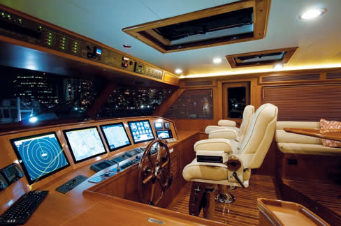 Interior Designer Susan Dabney Outfits Ultra Luxury Yachts