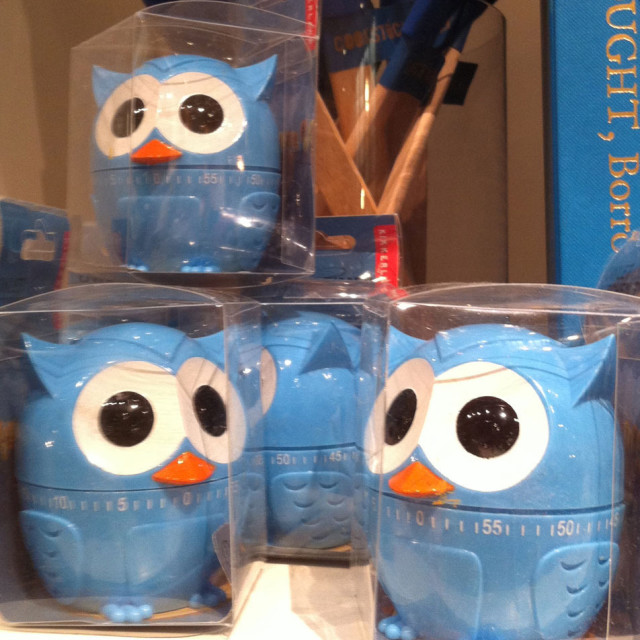 Owl Kitchen Timers From Kikkerland) Will Keep You Company Even If Youu0027re  Cooking Alone.