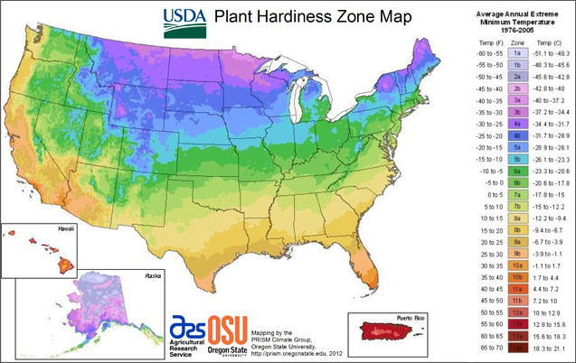 New Interactive Usda Plant Hardiness Zone Maps Portland Monthly