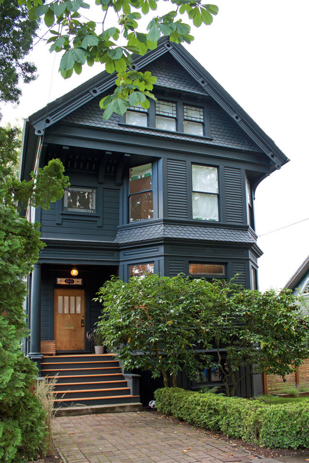 The new victorian portland monthly Victorian house front