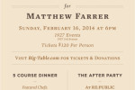 Thumbnail for - Saint James Benefit Dinner Aims to Raise $50k to Help Matt Farrer