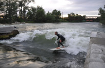 Thumbnail for - How a Portland Barber and a Colorado Engineer Teamed Up to Create the Perfect River Surfing Wave