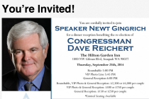 Thumbnail for - Morning Fizz: Gingrich to Host Reichert Fundraiser