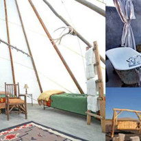 Thumbnail for - Slide Show: Northwest Glamping