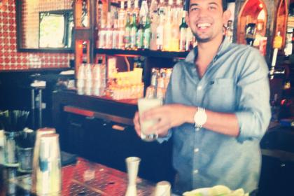 Thumbnail for - Five Questions for the Bartender: Joshua Fejeran