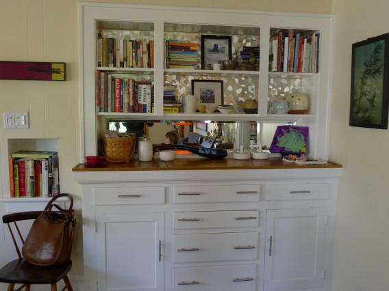 Art Displayed on Cabinet