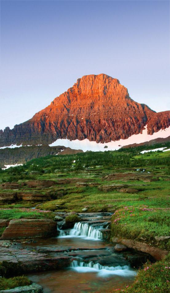 glacier park mountain
