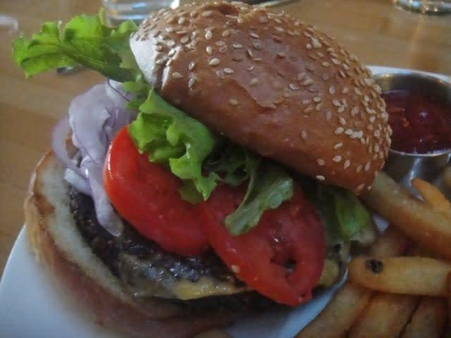 Observatory Veggie Burger