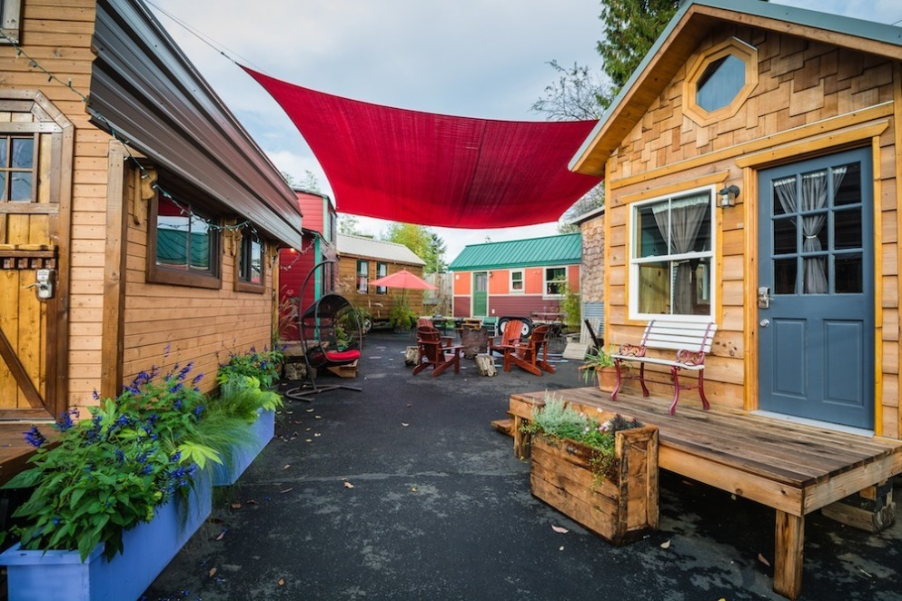 Checking In With Portland 39 S Tiny House Hotel Portland