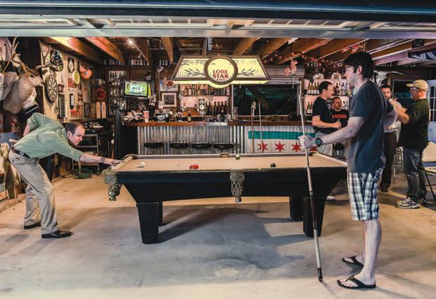 Man Cave Garage Company Houston : Designing the perfect man cave houstonia magazine