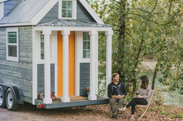 This portland start up custom builds the cutest tiny Small houses oregon