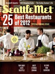 Issue - 25 Best Restaurants of 2012