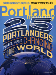 Issue - 25 Portlanders Who Are Changing the World