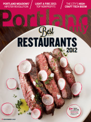 Issue - Portland's Best Restaurants