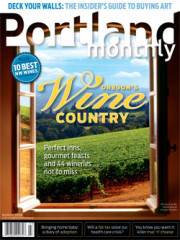 Issue - Oregon's Wine Country