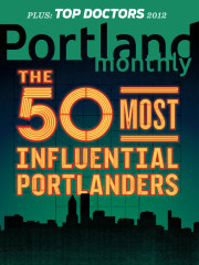 Issue - The 50 Most Influential Portlanders