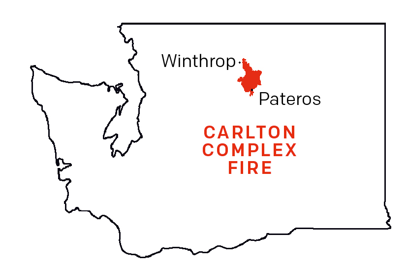 The Carlton Complex Fire: A Harvest of Ashes | Seattle Met