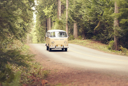 Vw van road trip rsceam