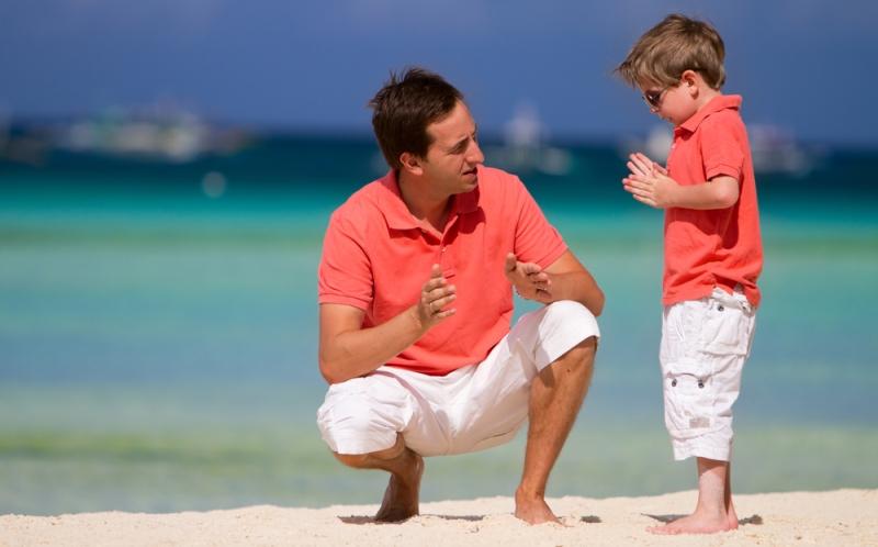 Kids: future shadows of their parents