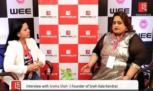 INTERVIEW WITH SNEHA SHAH – SNEH KALA KENDRA