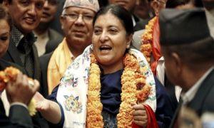 नेपाल की राष्ट्रपति विद्या देवी भंडारी चार दिवसीय यात्रा पर पहुची दिल्ली, राष्ट्रपति भवन में हुआ स्वागत!
