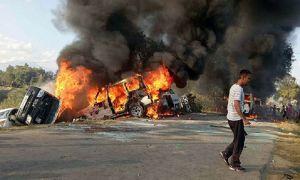 SC/ST Act पर सुप्रीम कोर्ट के आदेश के  कारण देश में कई जगहों पर दंगा