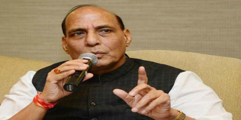 Home Minister Rajnath Singh urges political parties to keep calm