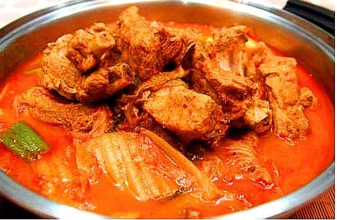 Kimchi Jeon Gol