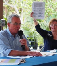SCCF Hosts Water Forum with U.S. Congressman and Sanibel's Mayor