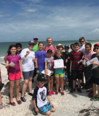 Fifth Graders Study Shoreline Ecology