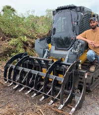 SCCF's New Skid-steer Enhances Land Restoration Capability