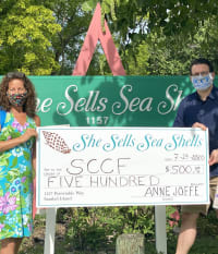 She Sells Sea Shells Donates $500 to SCCF
