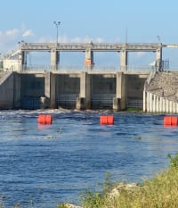 Corps Releases Lake O Water to Caloosahatchee Estuary