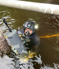 Mote-SCCF Collaboration on Underwater Acoustic Research