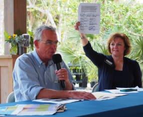 SCCF Hosts Water Forum with U.S. Congressman and Sanibel's Mayor