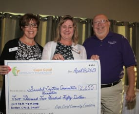 Cape Coral Community Foundation Gift to SCCF