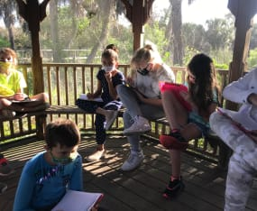 Students Document Seasonal Changes in Pick Preserve