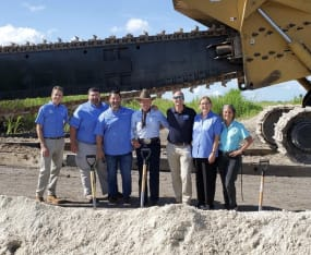 SCCF Celebrates Groundbreaking of Curtain Wall