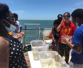Quality Life Center Teens Take Trip to Cayo Costa