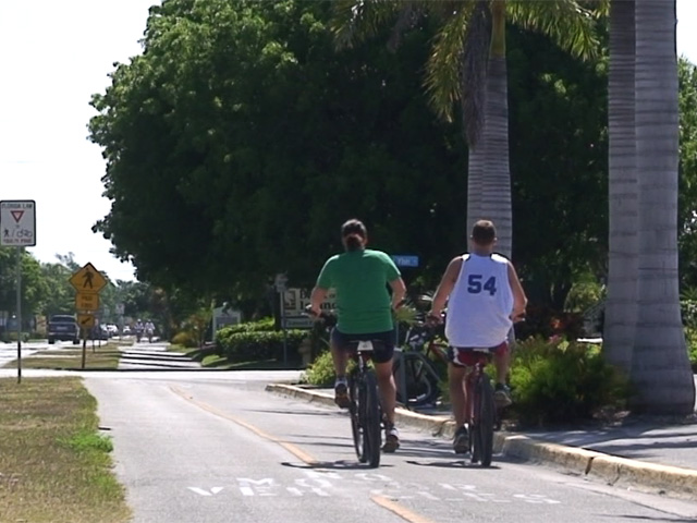 Cycling on Sanibel