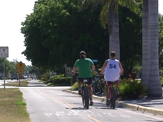 Cycling on Sanibel