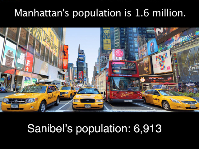 Manhattan Island vs. Sanibel Island