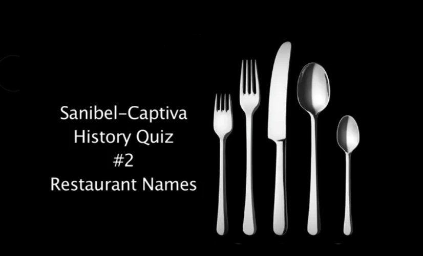 Sanibel History Quiz #2