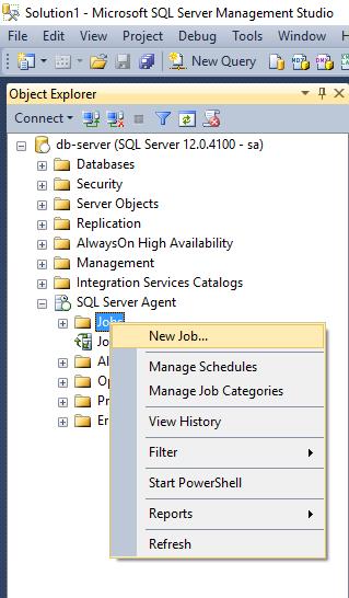 SQL JOB