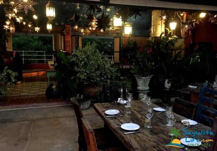 Mar Plata Restaurant in Sayulita Mexico
