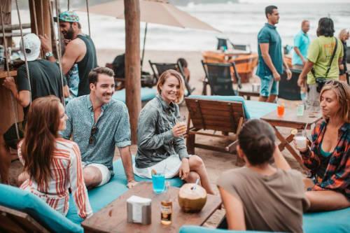 Cocos Beach Club in Sayulita Mexico