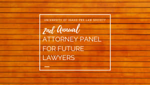 Attorney Panel for Future Lawyers