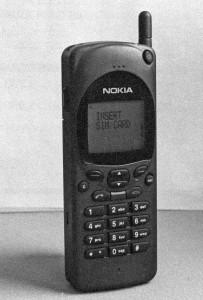 Nokia 2110. (Foto: Scanpix)