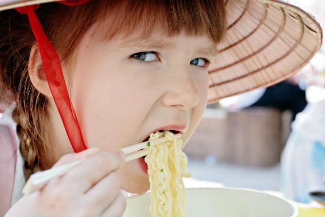 Spaghetti eller nudler? Hvem vet?! (Foto: Colourbox)